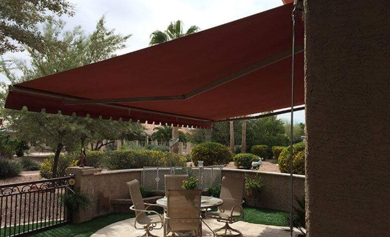 Sunchoice retractable awning