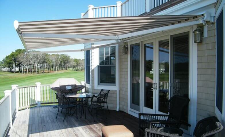Suntube retractable awning