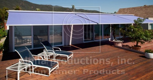 folding lateral arm retractable awnings