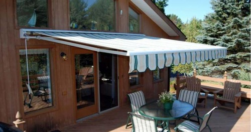 taylor madeВfolding lateral arm retractable awning