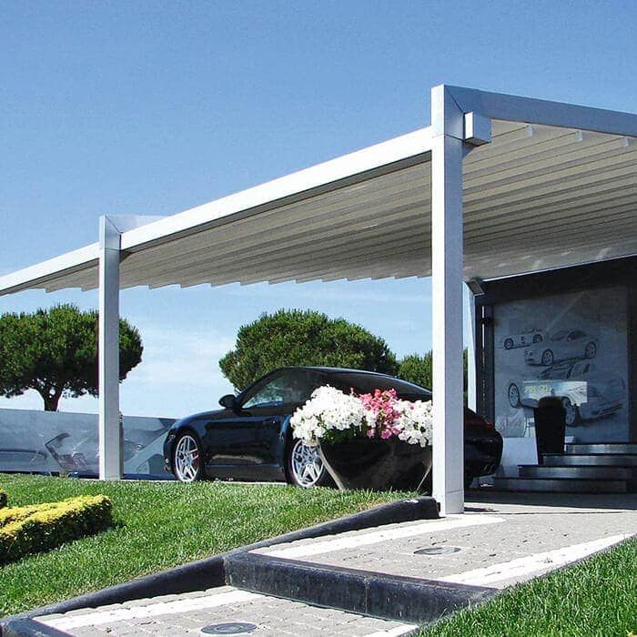 Retractable roof and pergola material and fabric